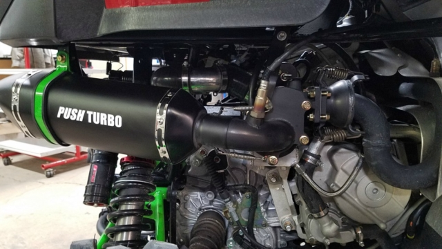 Push Turbo Wildcat sport turbo kit. Wildcat turbo